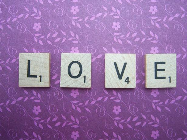 scrabble: love