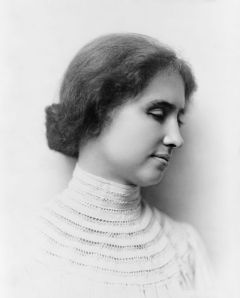 Helen Keller via Wikipedia