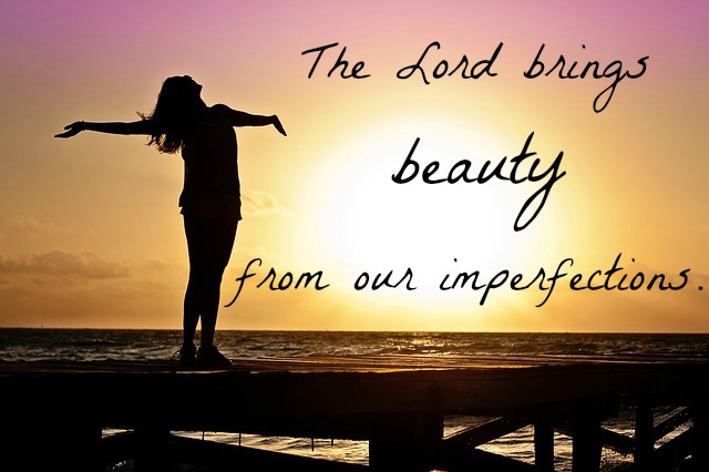 Beauty from imperfection